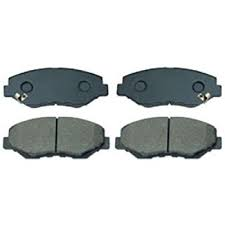 ASIMCO Brake Pad Set -  Acura 2000-2004 RL, Honda 2002-2008 Accord, 2001-2007 CR-V, 2001-2014 Civic, 2005-2009 FR-V, 1996-2000 Prelude, 2000-2009 S2000, 1994-1999 Shuttle, 2001-2009 Stream