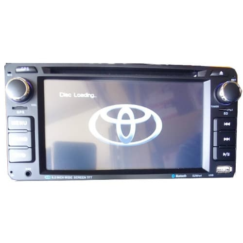 ORIGINAL TOYOTA CAR DVD
