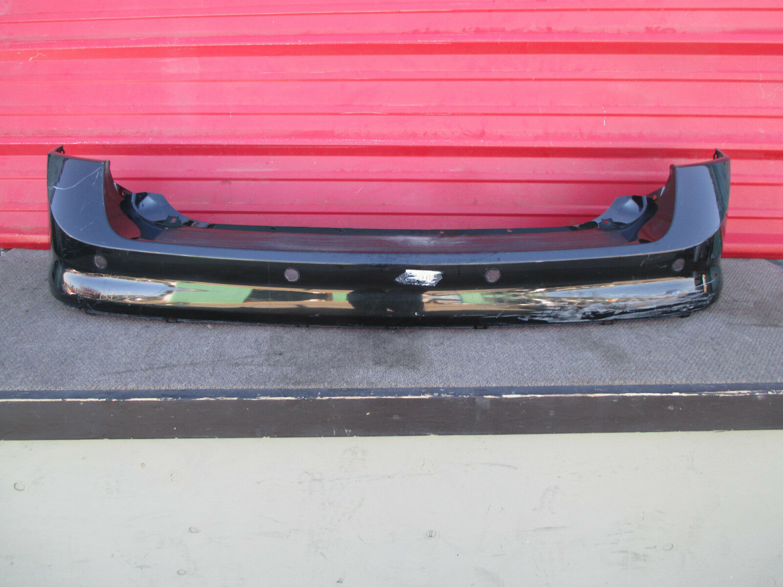 AMERICAN USED BACK BUMPER