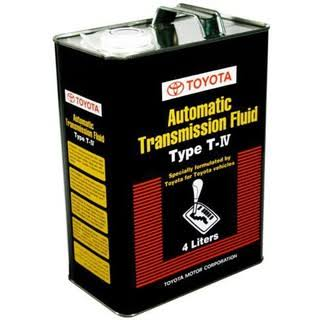TOYOTA AUTOMATIC TRANSMISSION FLUID TYPE T-IV - 4LITRES