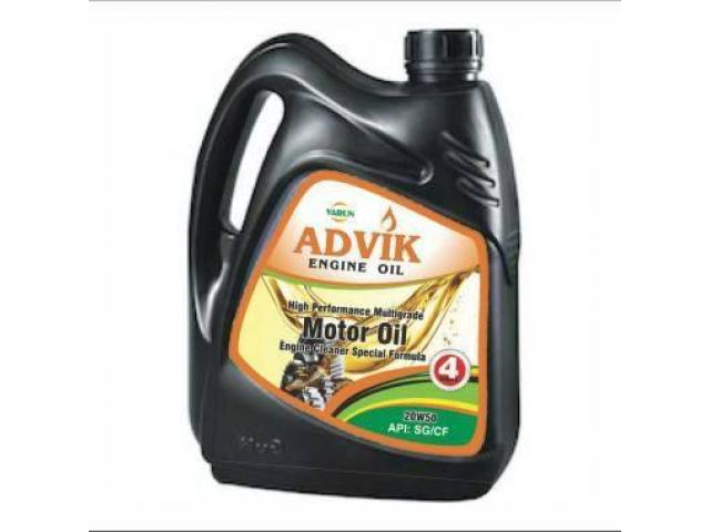 ORIGINAL ADVIK 20W50 ENGINE OIL (4 LITRES)