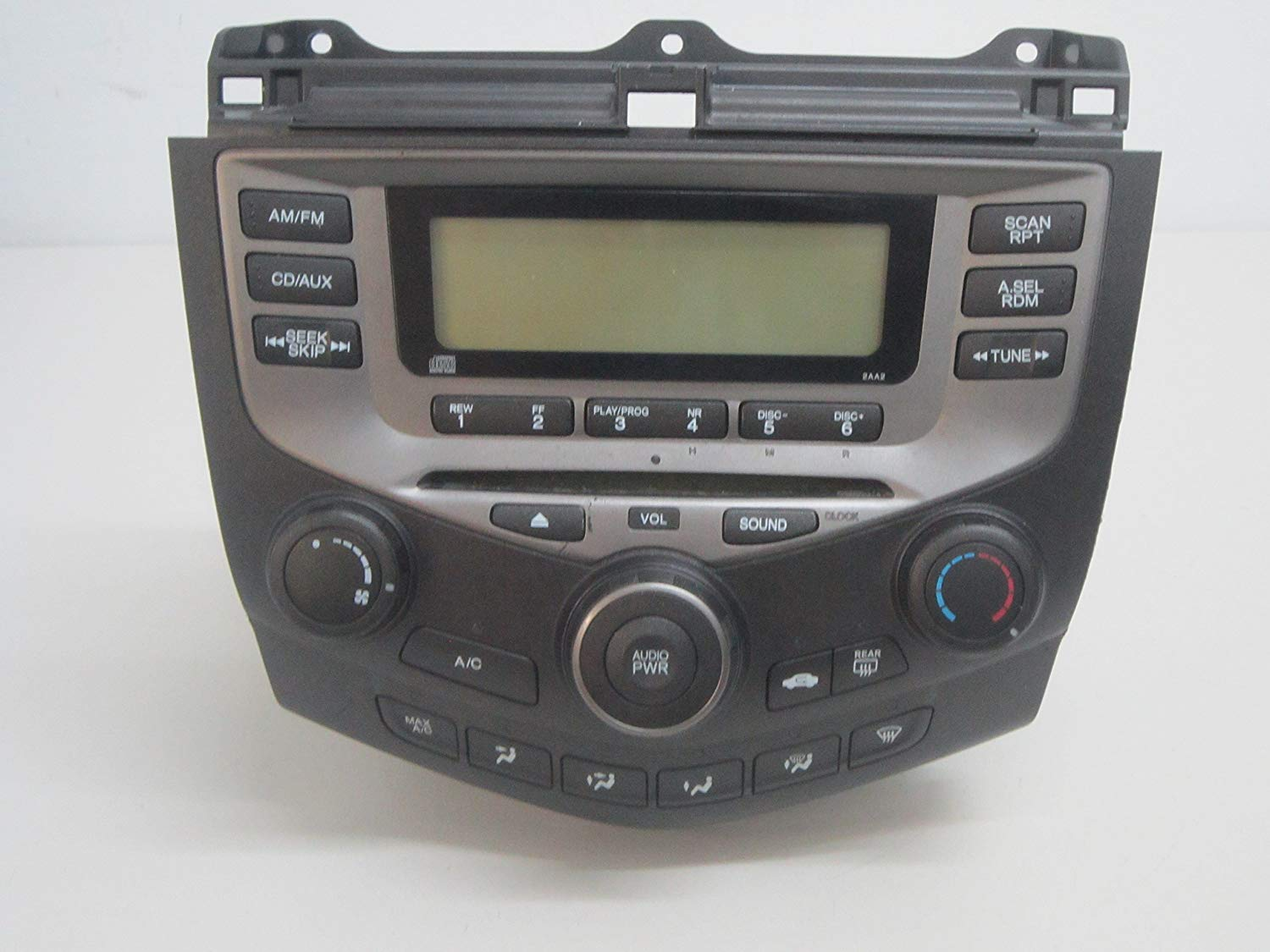 AMERICAN USED ACCORD CAR STEREO