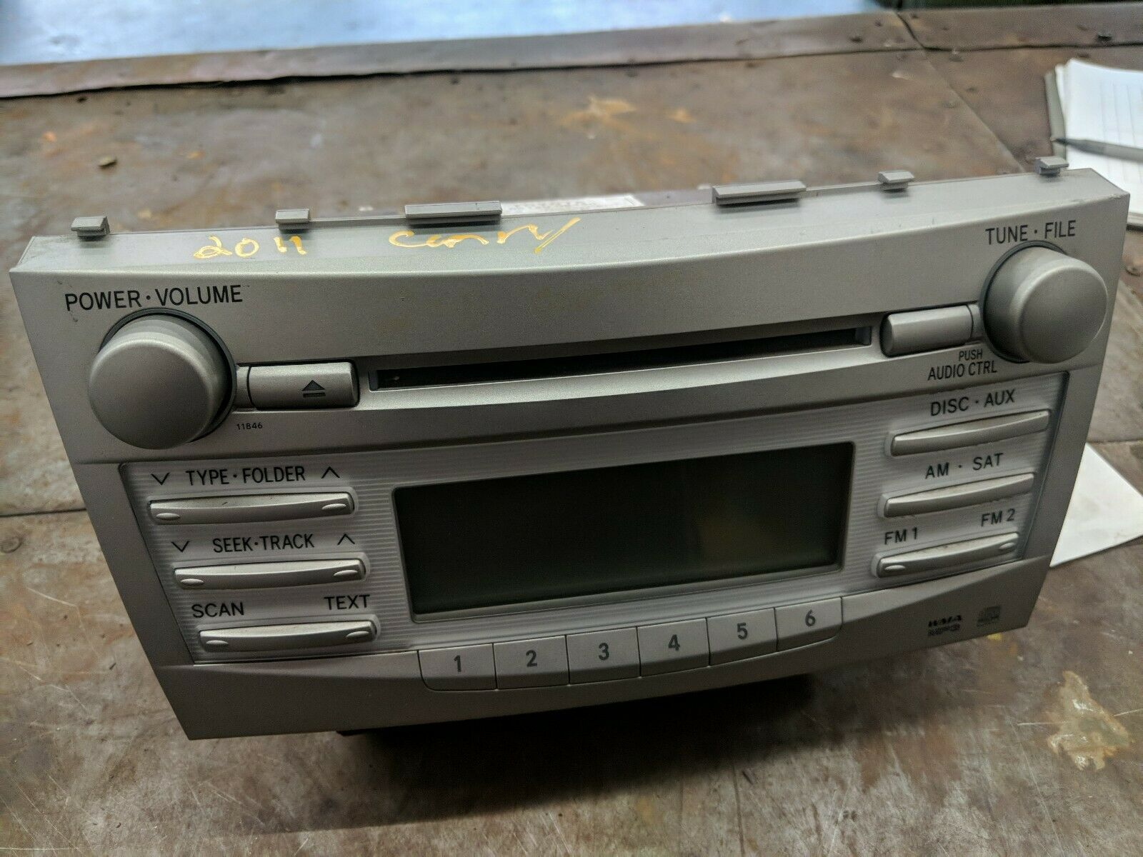 EUROPE USED CAMRY  CAR STEREO