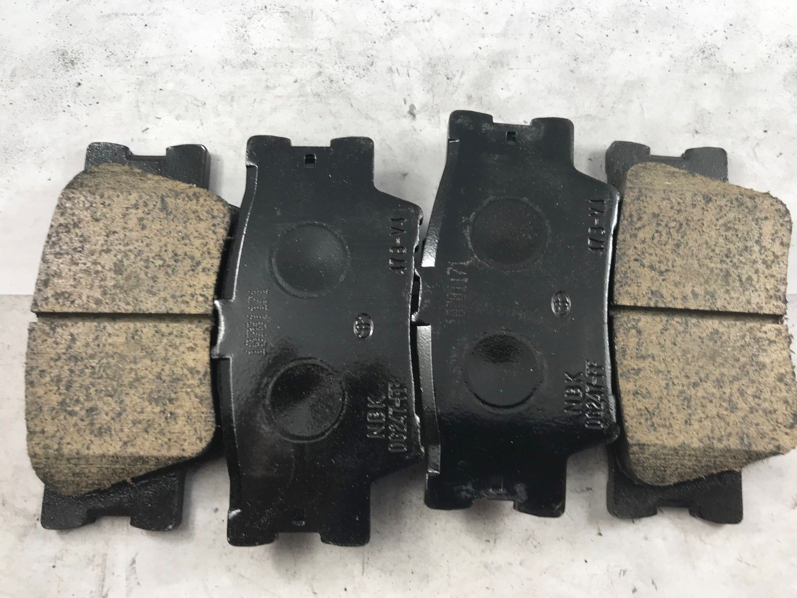 CONFIRMED NEW BRAKE PADS