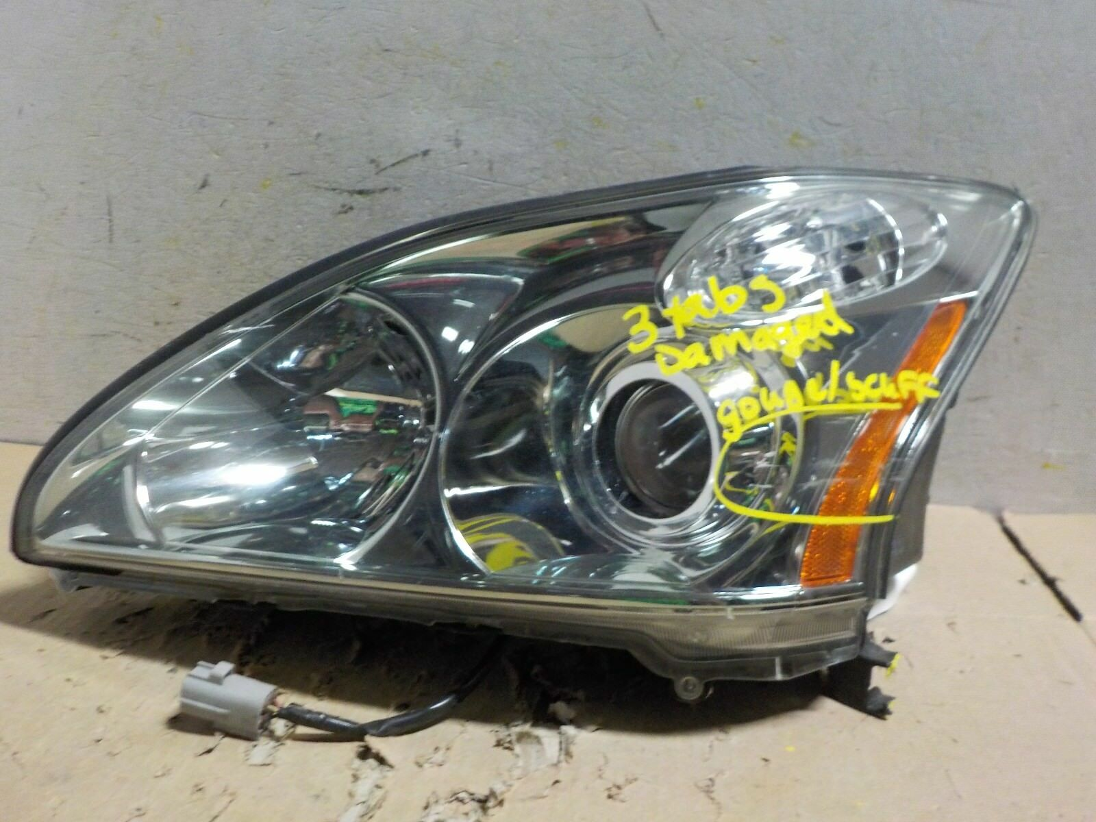 CLEAN USED LEXUS RX 330 2005 HEADLIGHT SET