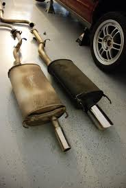 FAIRLY USED EXHAUST