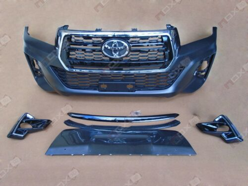 FAIRLY USED HILUX 2013 FRONT BUMPER