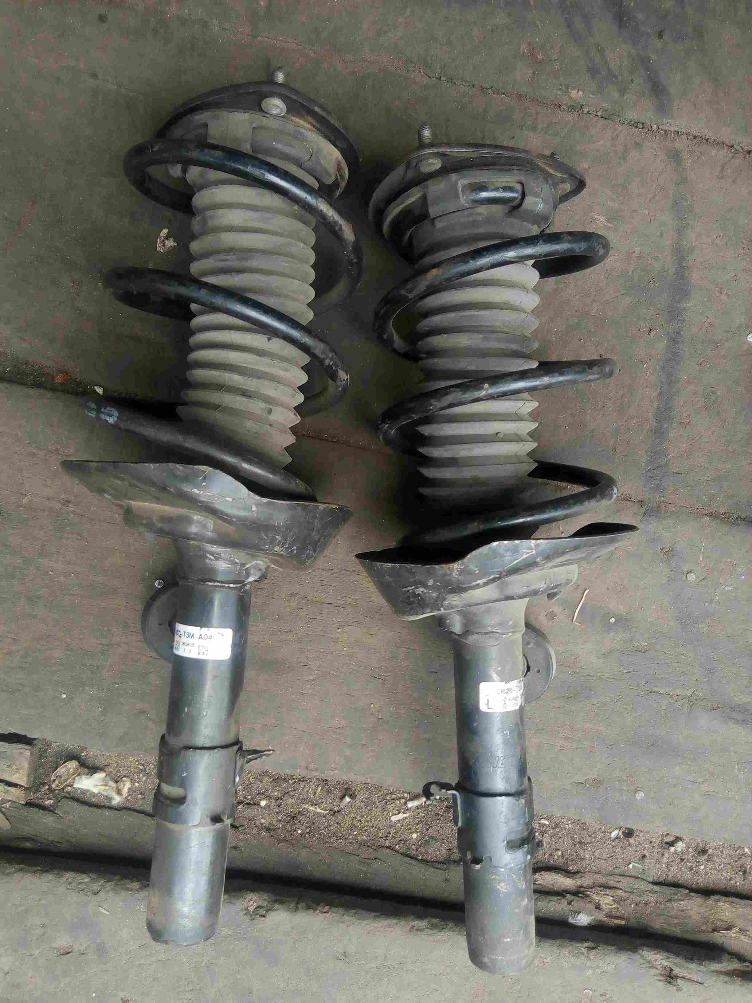 Belgium used Shock absorber front