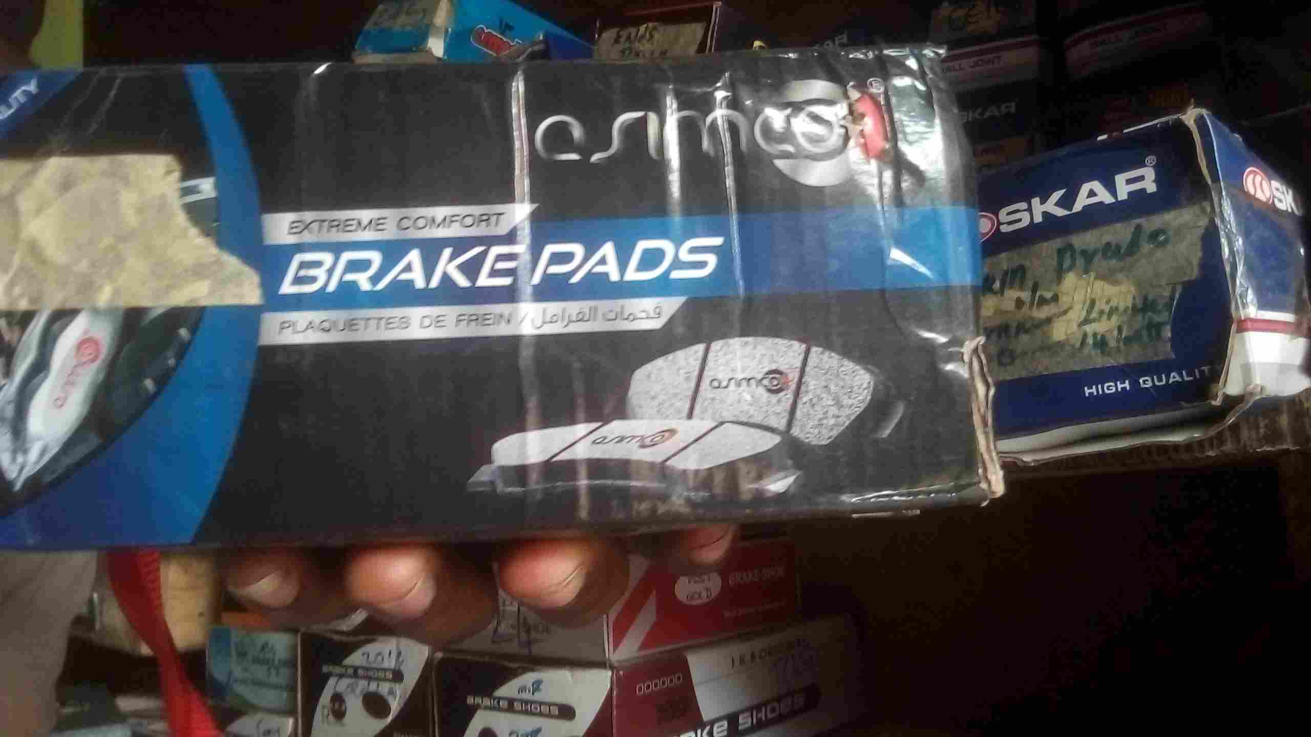 FAIRLY USED BRAKE PADS
