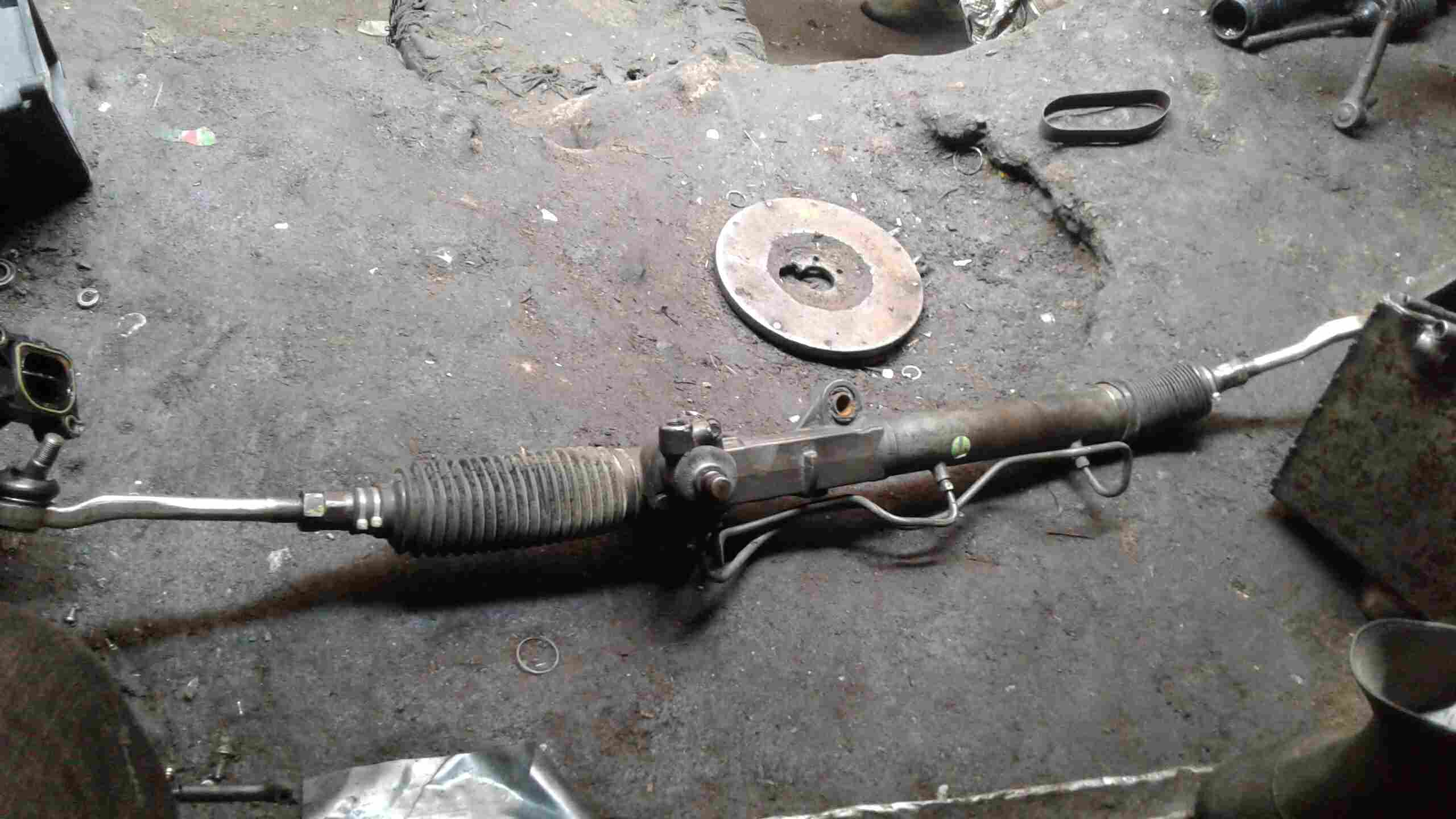 fairly used belgium steering rack