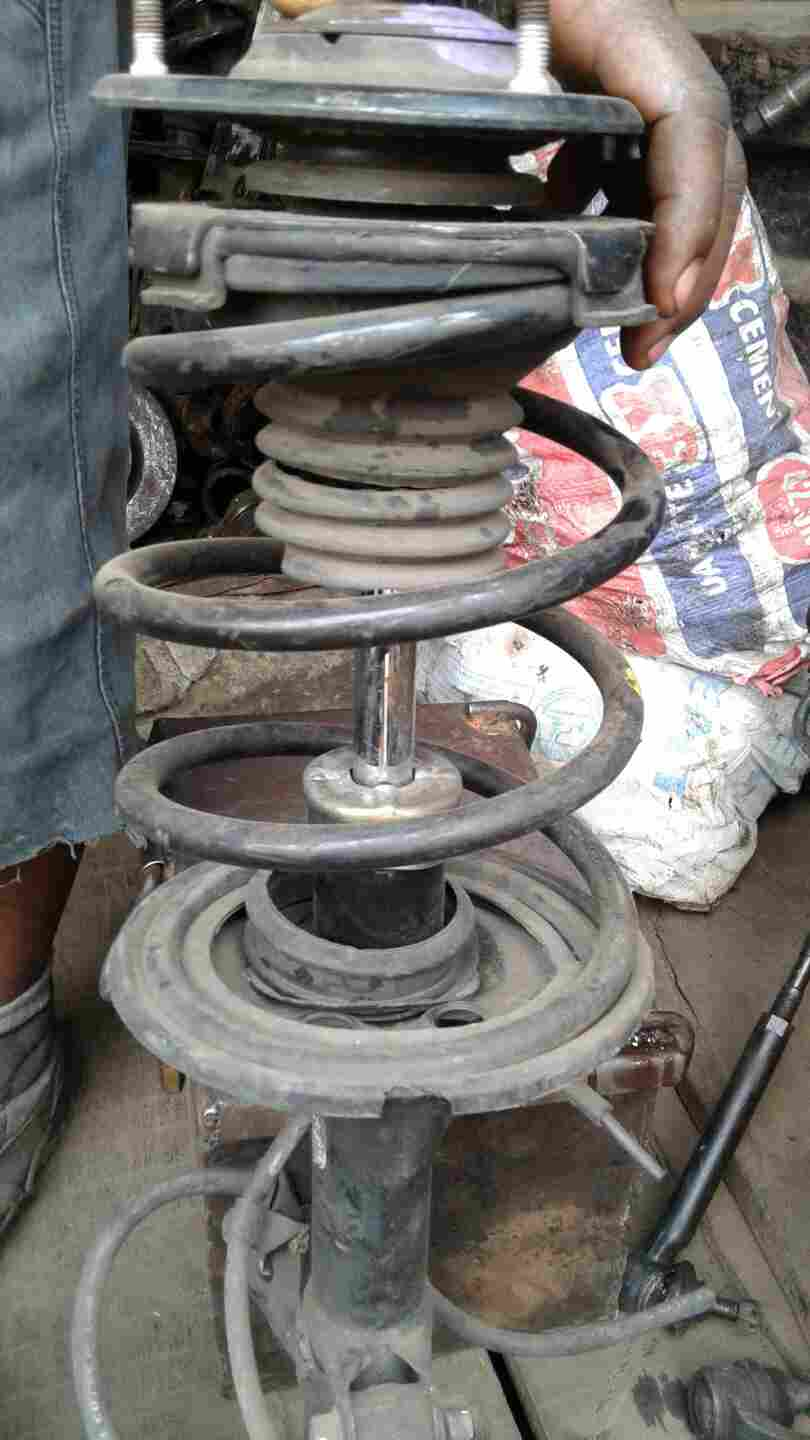 FAIRLY USED SHOCK ABSORBER