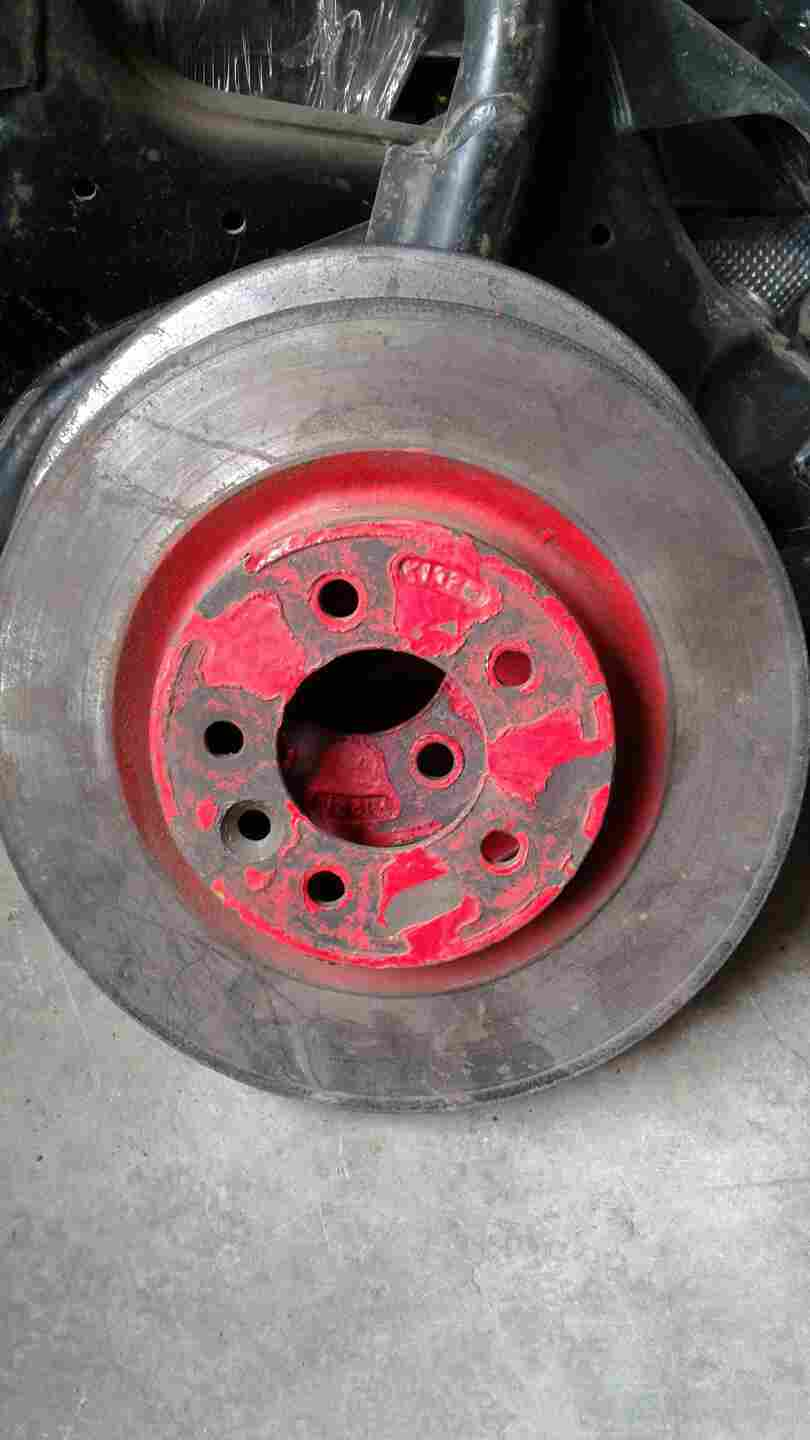 NEW Brake Disc -  Land Rover 2006-2014 Range Rover Sport