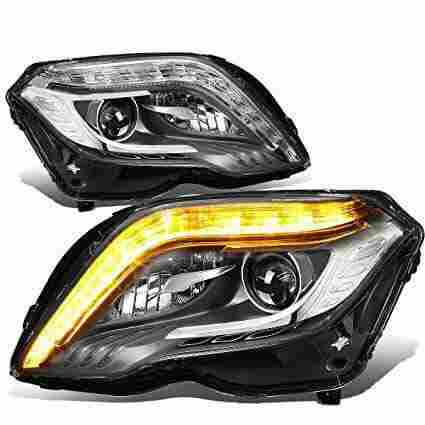 NEW GLK 350 HEADLIGHT SET