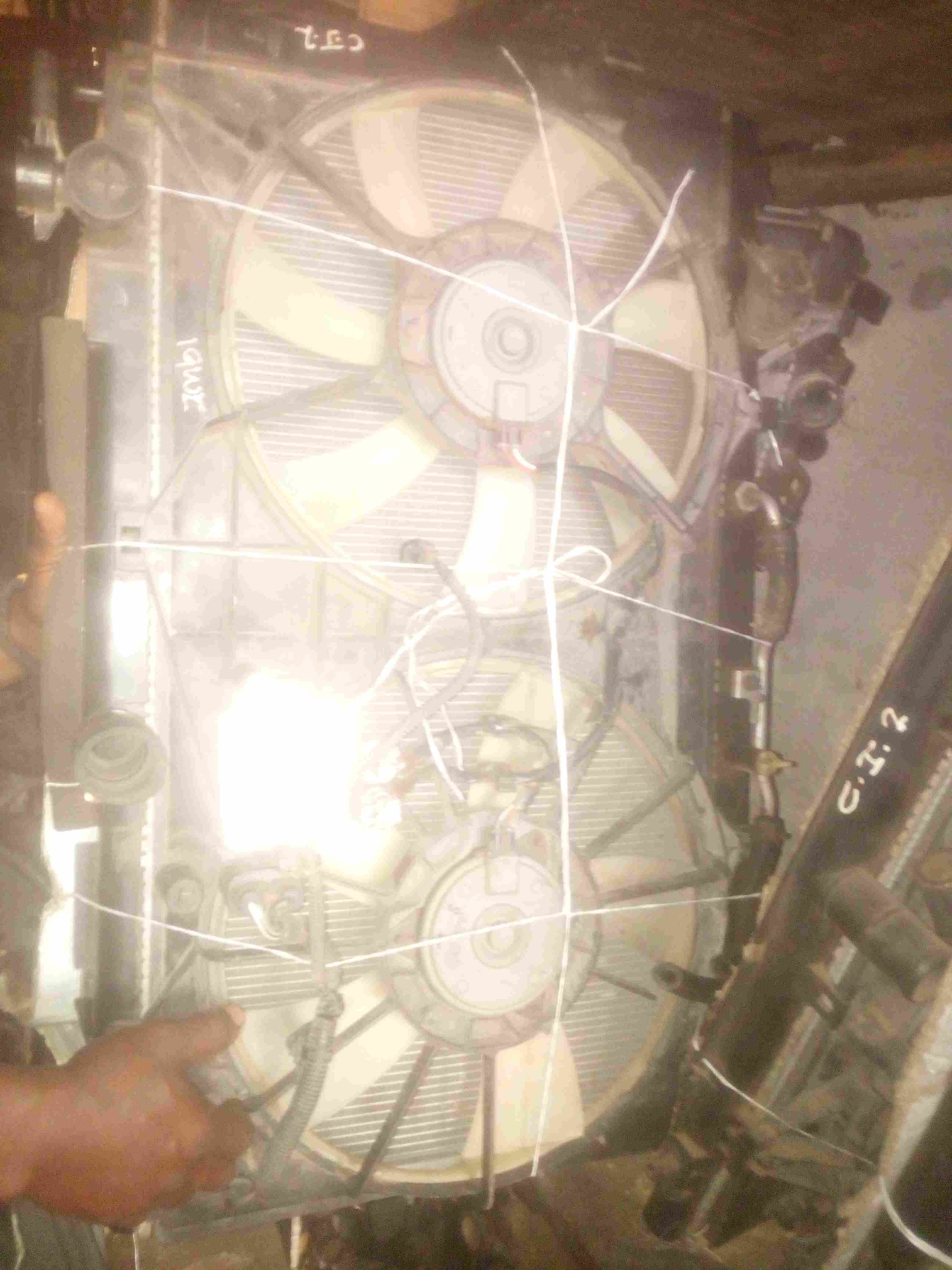 Fairly Used  Radiator and Fan