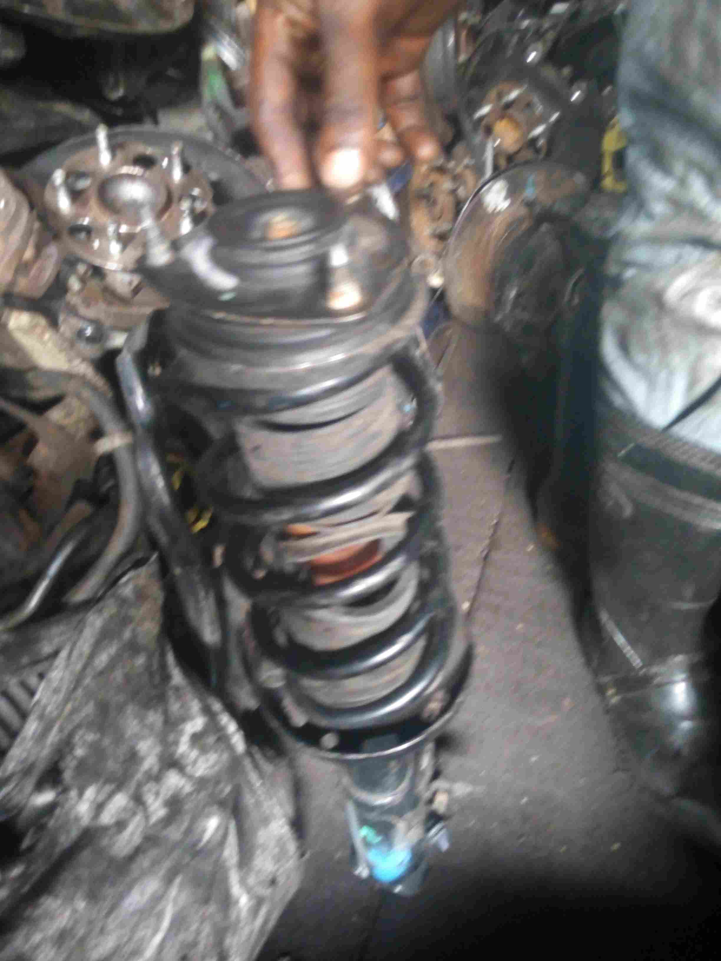 fairly used belgium front shock absorber