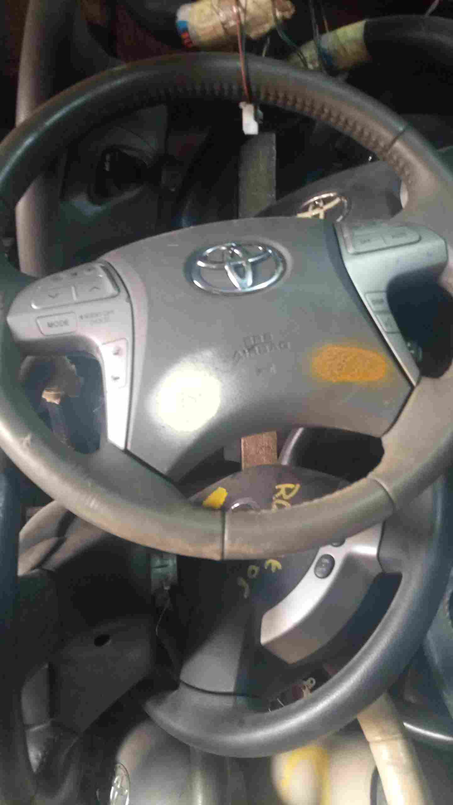 Fairly Used Steering Wheel