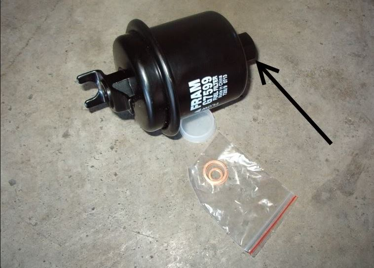 GUMOUT Fuel Filter -  Honda 2010-2012 Accord, 2009-2010 Civic