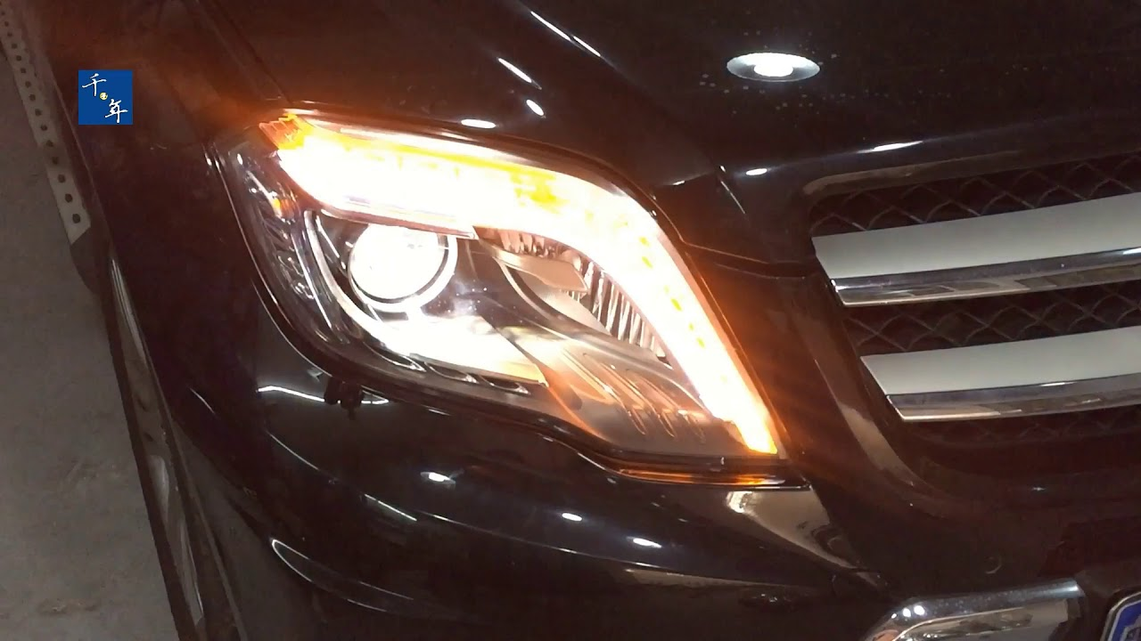 BENZ GLK HEADLIGHT (CLEAN TOKUNBO)
