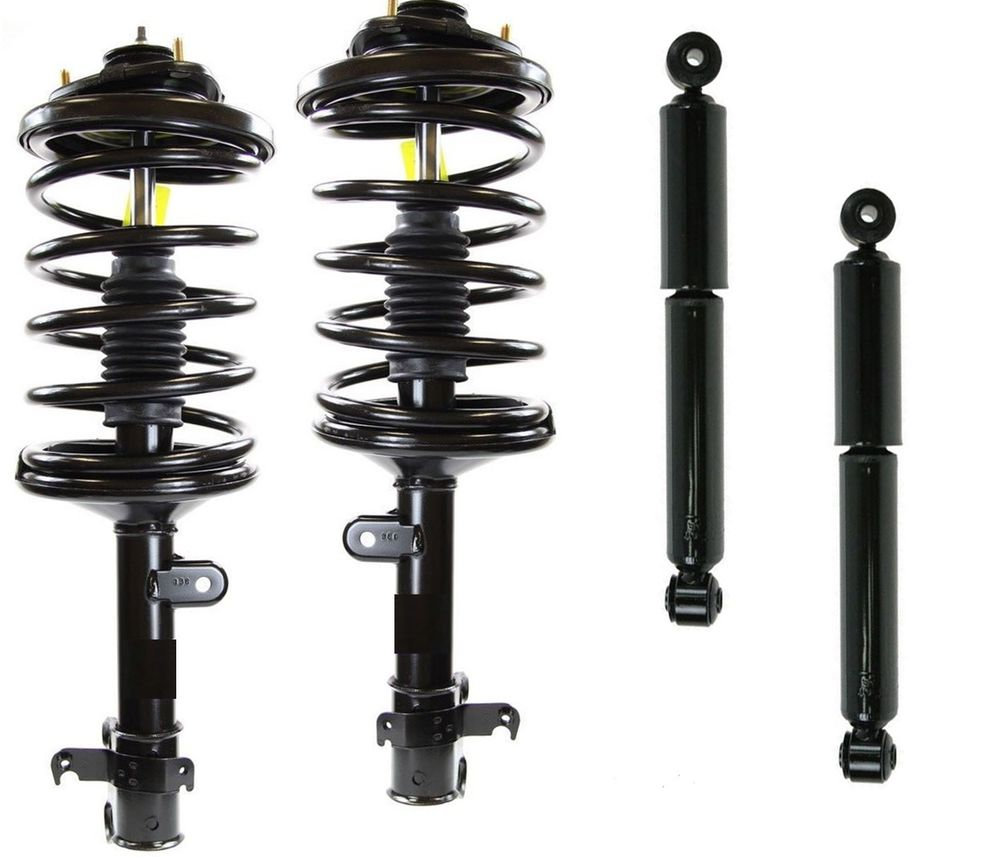 FAIRLY USED COMPLETE SHOCK ABSORBER SET WITH WHEEL HUB