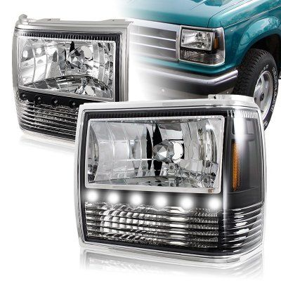 CLEAN USED FORD EXPLORER 1994 HEADLIGHT SET