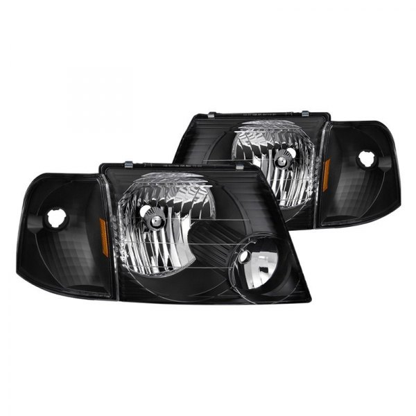 FAIRLY USED FORD EXPLORER 2003 HEADLIGHT SET