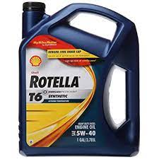 NEW SHELL ROTELLA SYNTHETIC OIL