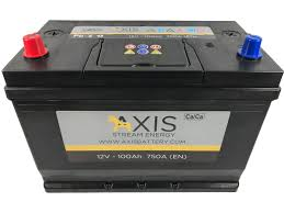 NEW AXIS 75AH BATTERY