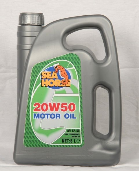 NEW SEAHORSE 20W-50 ENGINE OIL (4 LITERS)