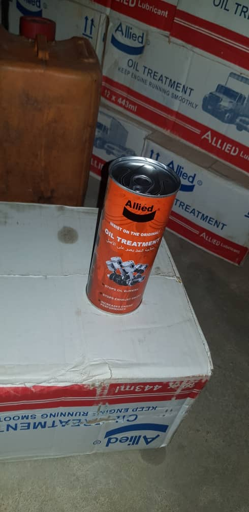 NEW ALLIED ENGINE OIL TREATMENT