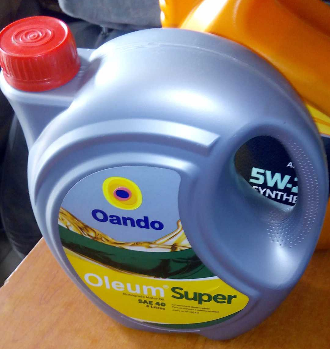 NEW OANDO 4 LITRES ENGINE OIL