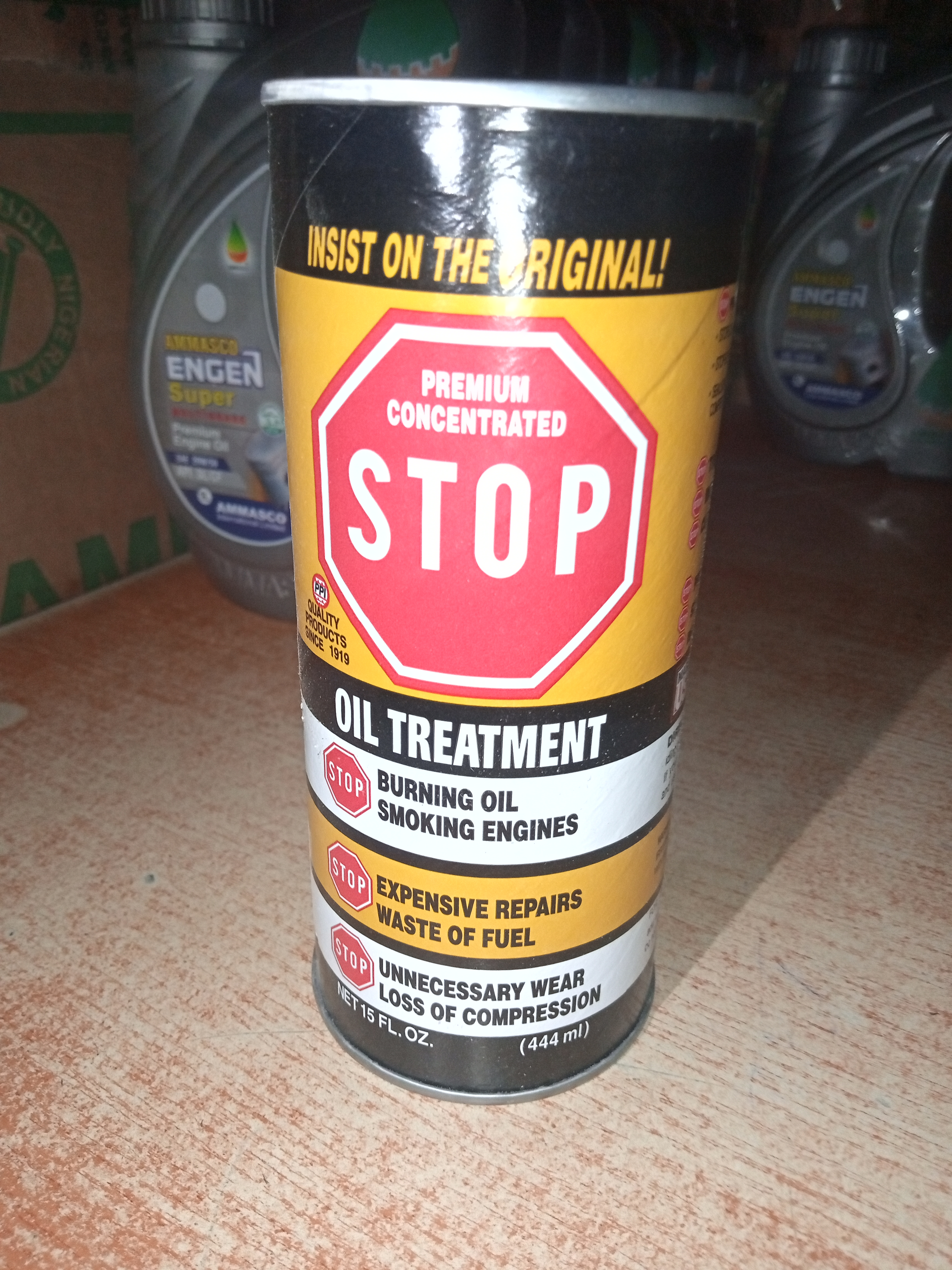 NEW PREMIUM CONCENTRATED OIL TREATMENT