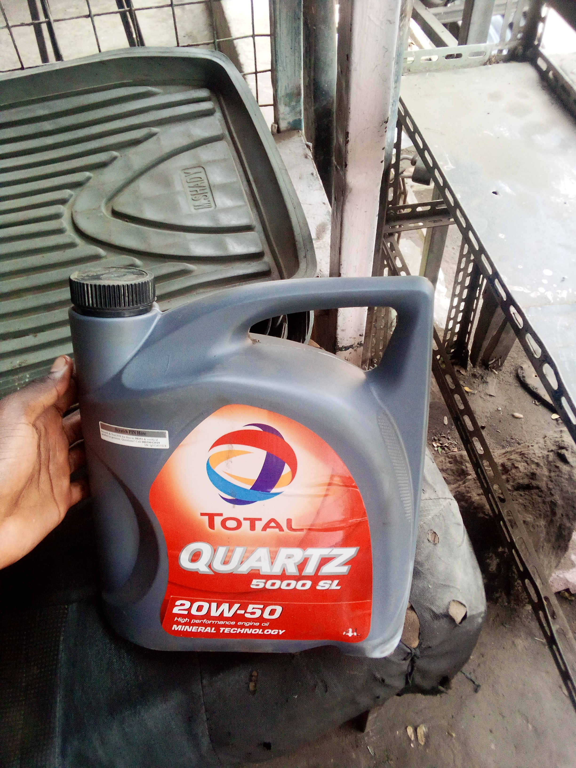 ORIGINAL TOTAL QUARTZ ENGINE OIL