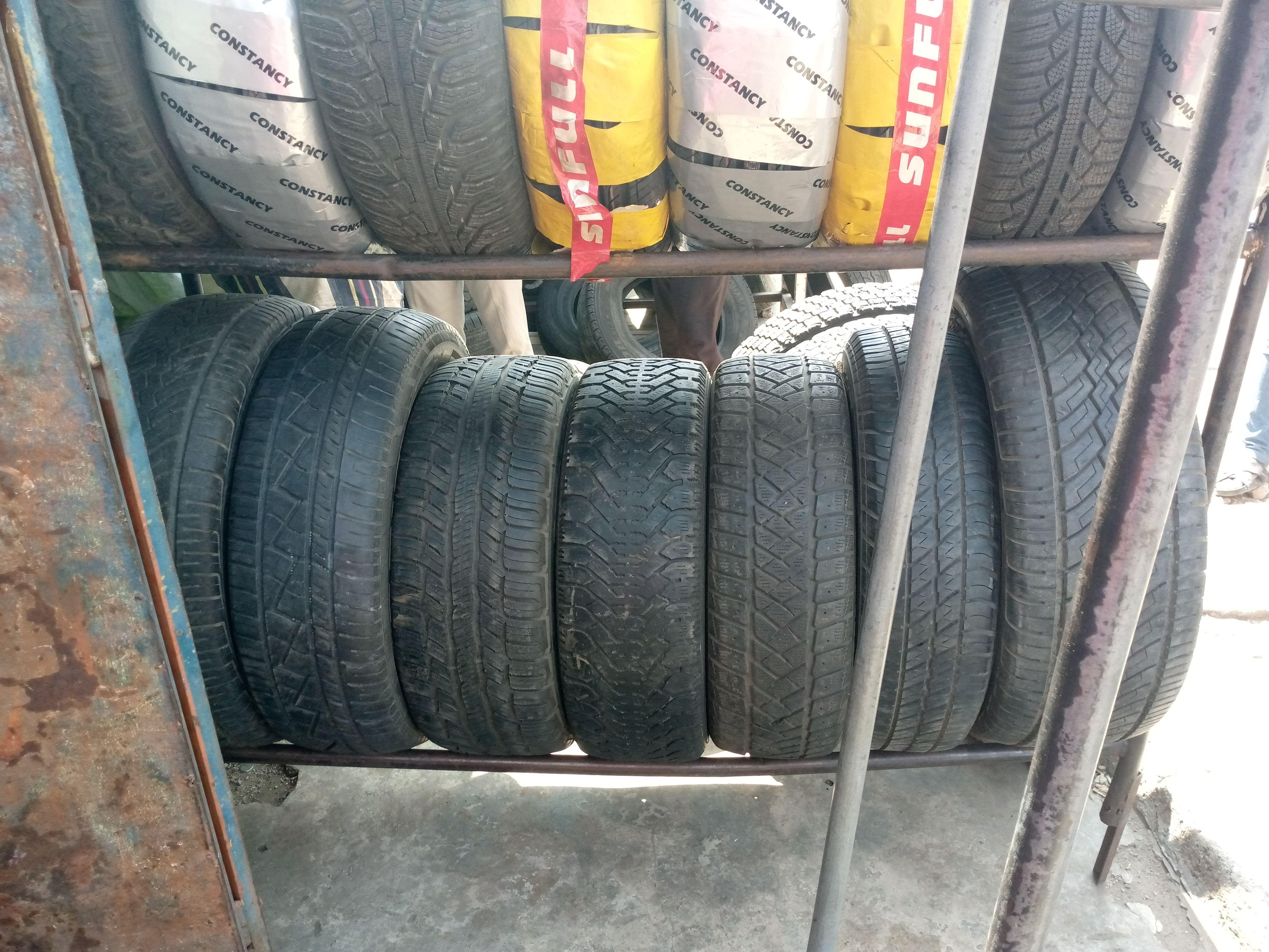 NEW CONFIRMED GOODYEAR  TYRE