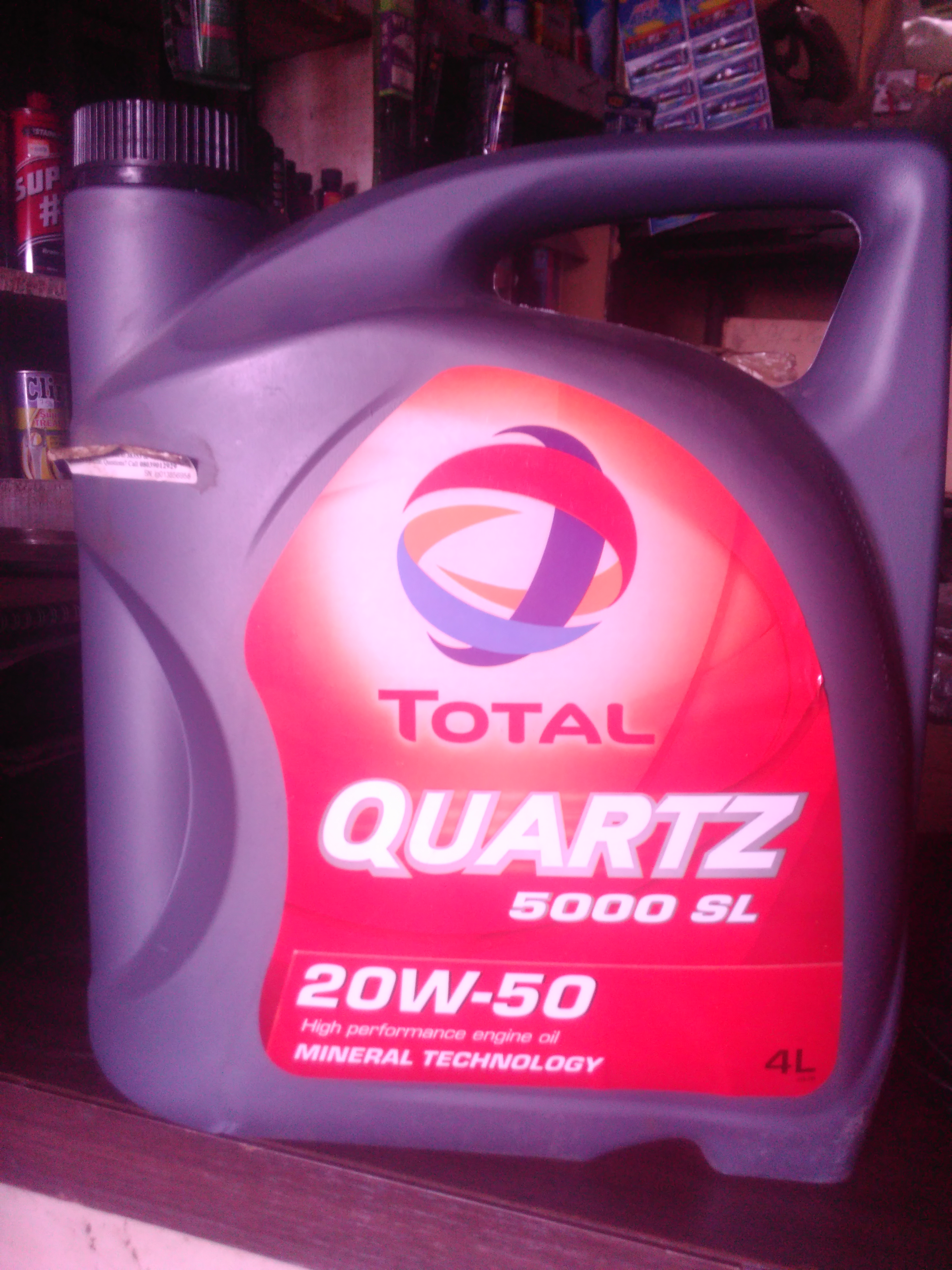 total engine oil