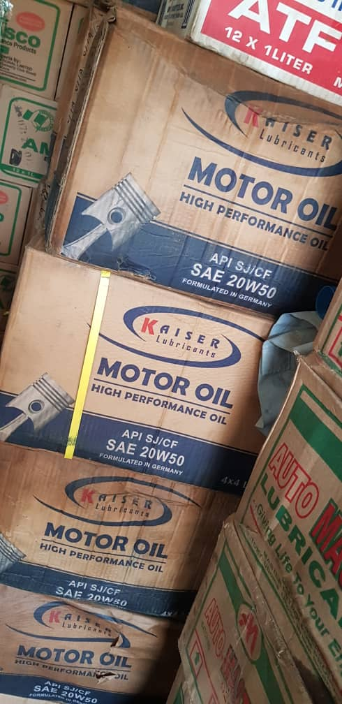 NEW KAISER ENGINE OIL