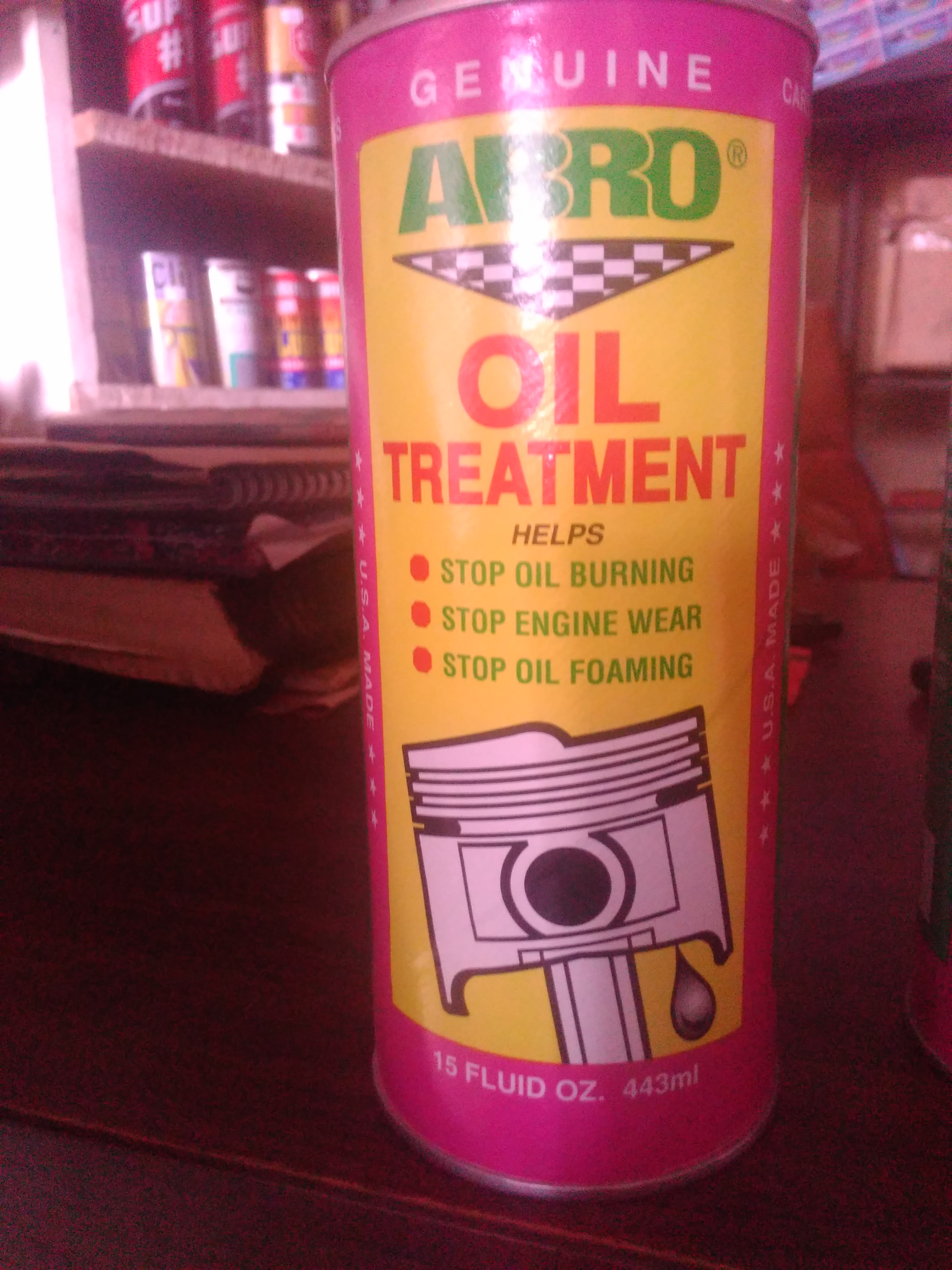 ORIGINAL ABRO OIL TREATMENT