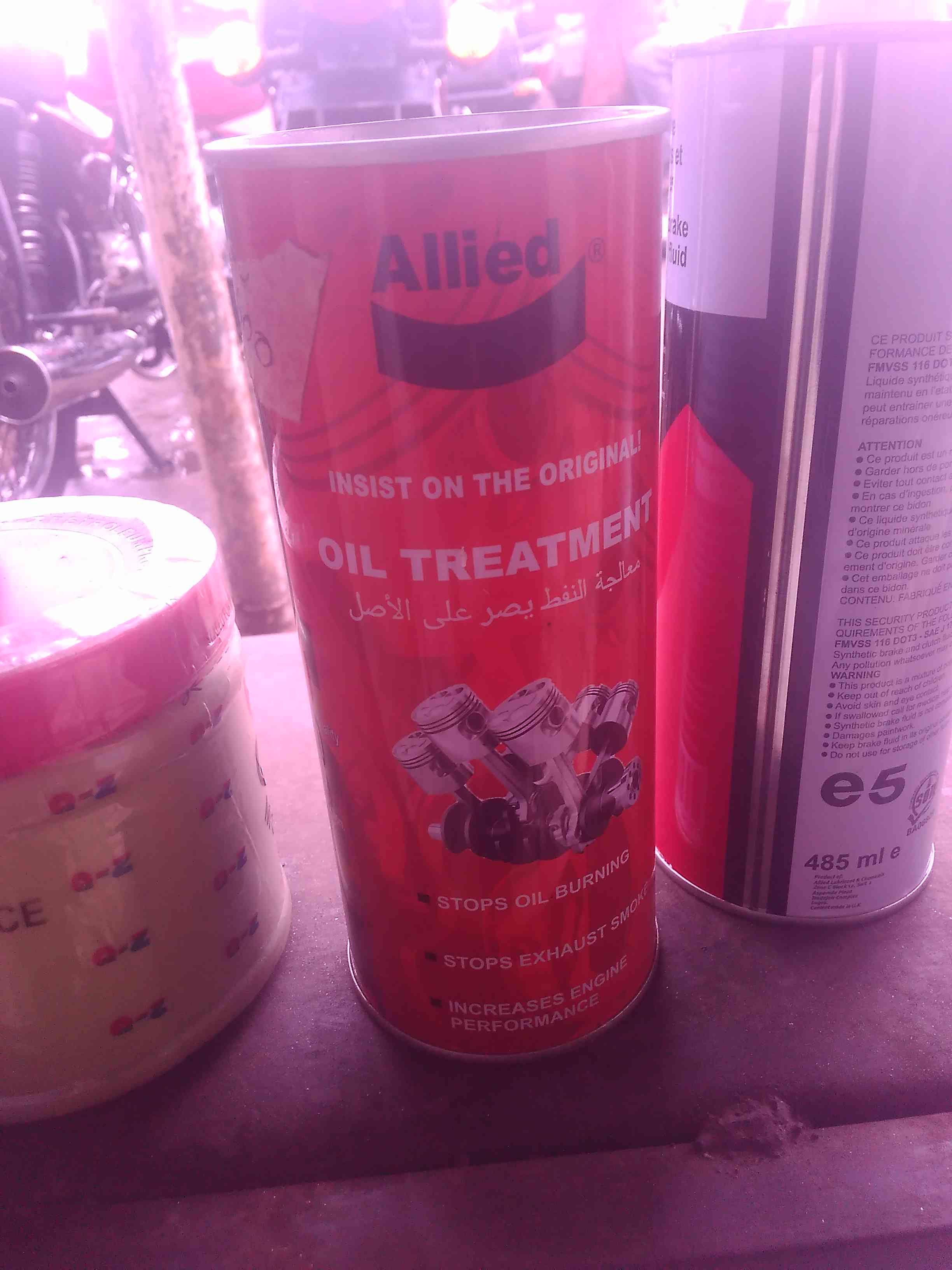 NEW ALLIED OIL TREATMENT