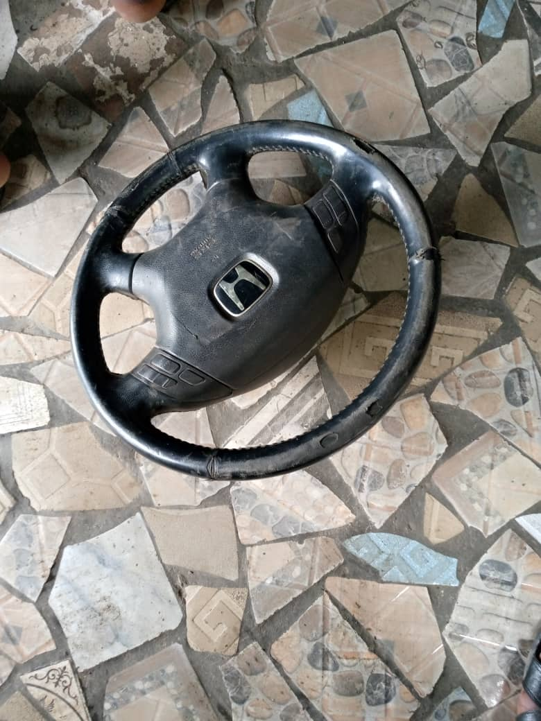 fairly used american steering wheel
