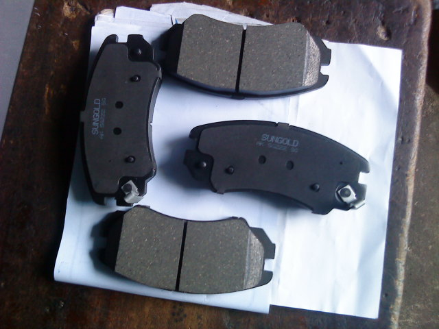 NEW ORIGINAL SUNGOLD BRAKE PADS SET