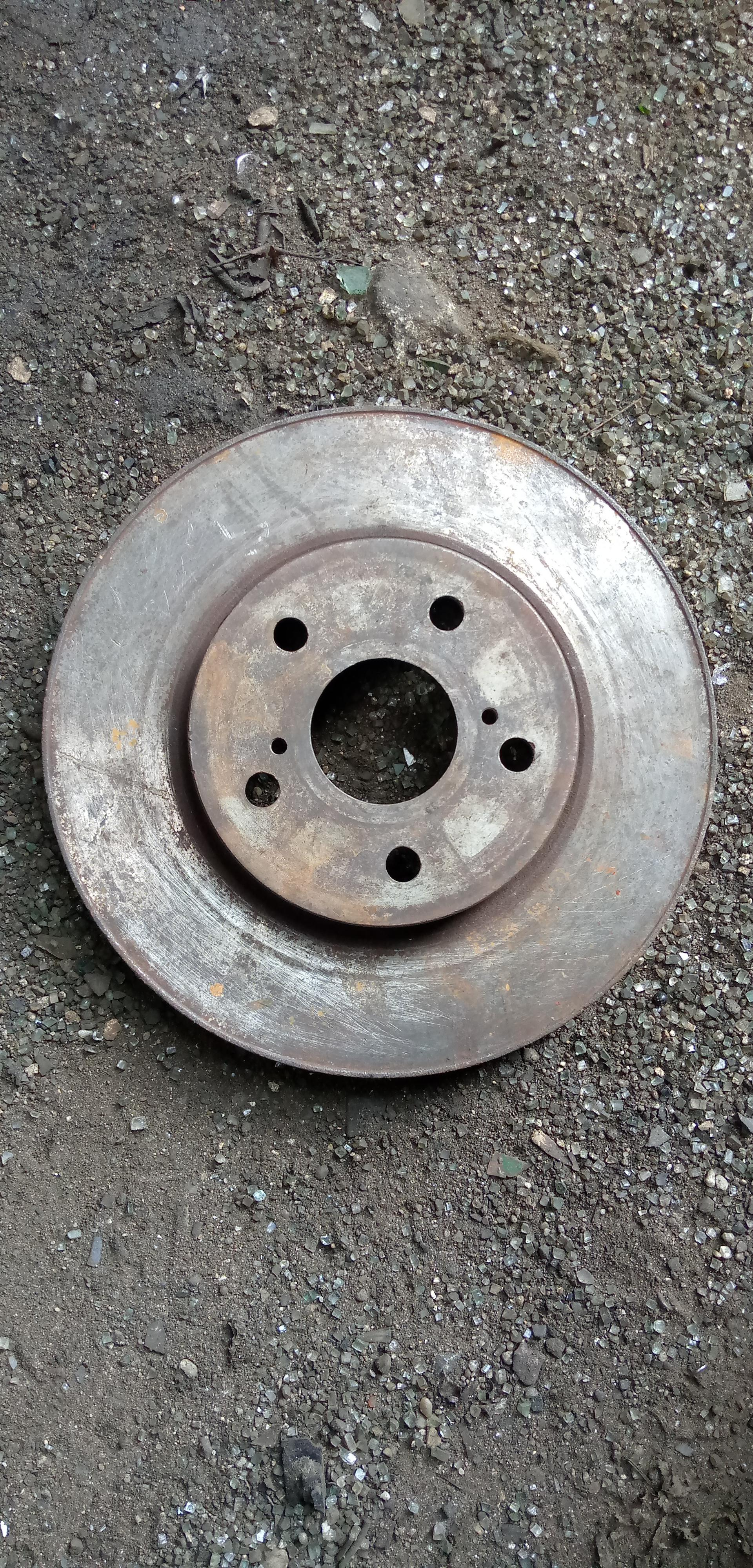 FAIRLY USED BRAKE DISC