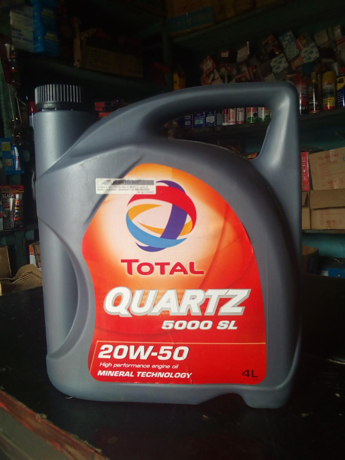 ORIGINAL TOTAL ENGINE OIL