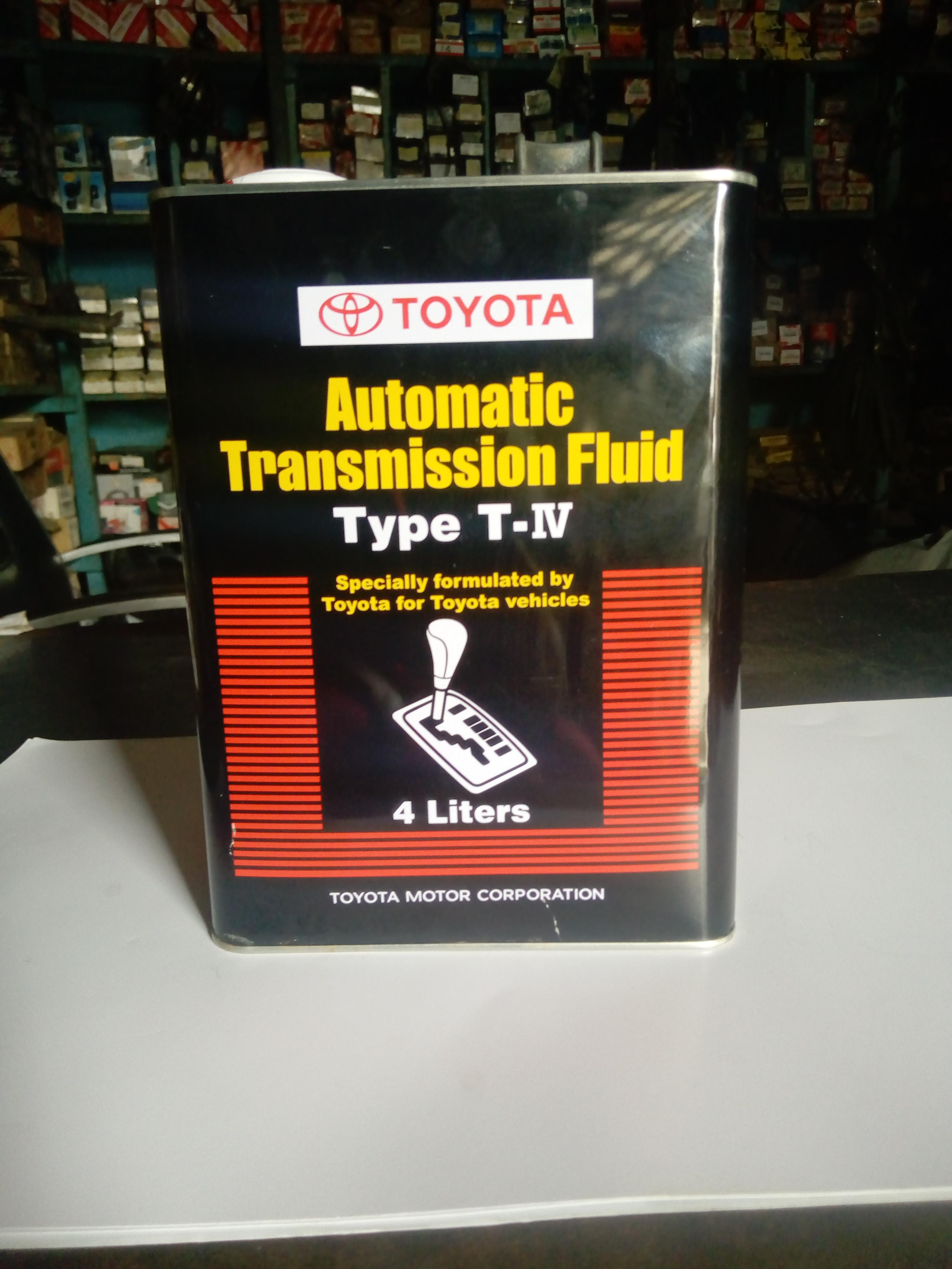 NEW ORIGINAL TOYOTA TRANSMISSION FLUID