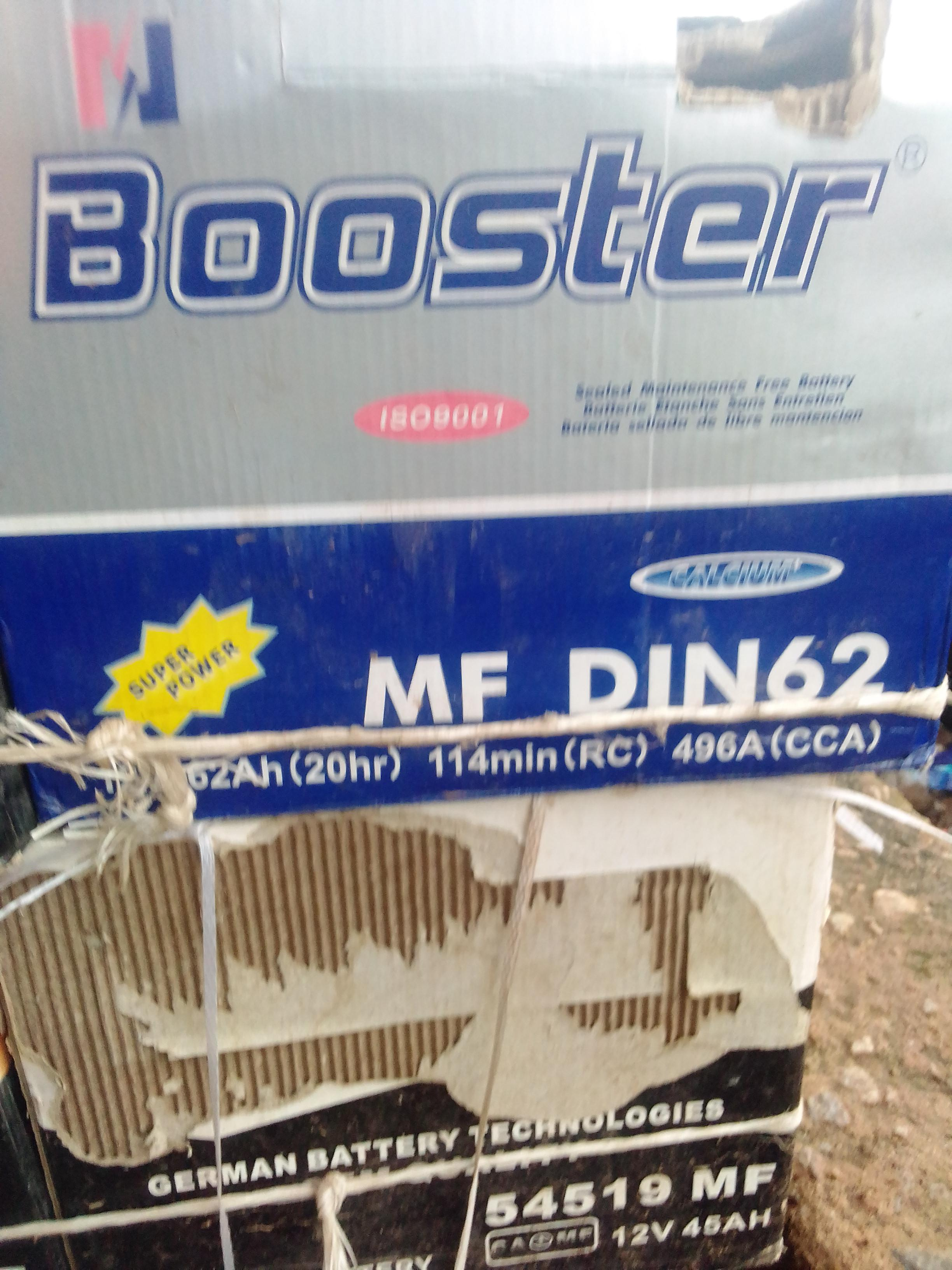 new booster battery