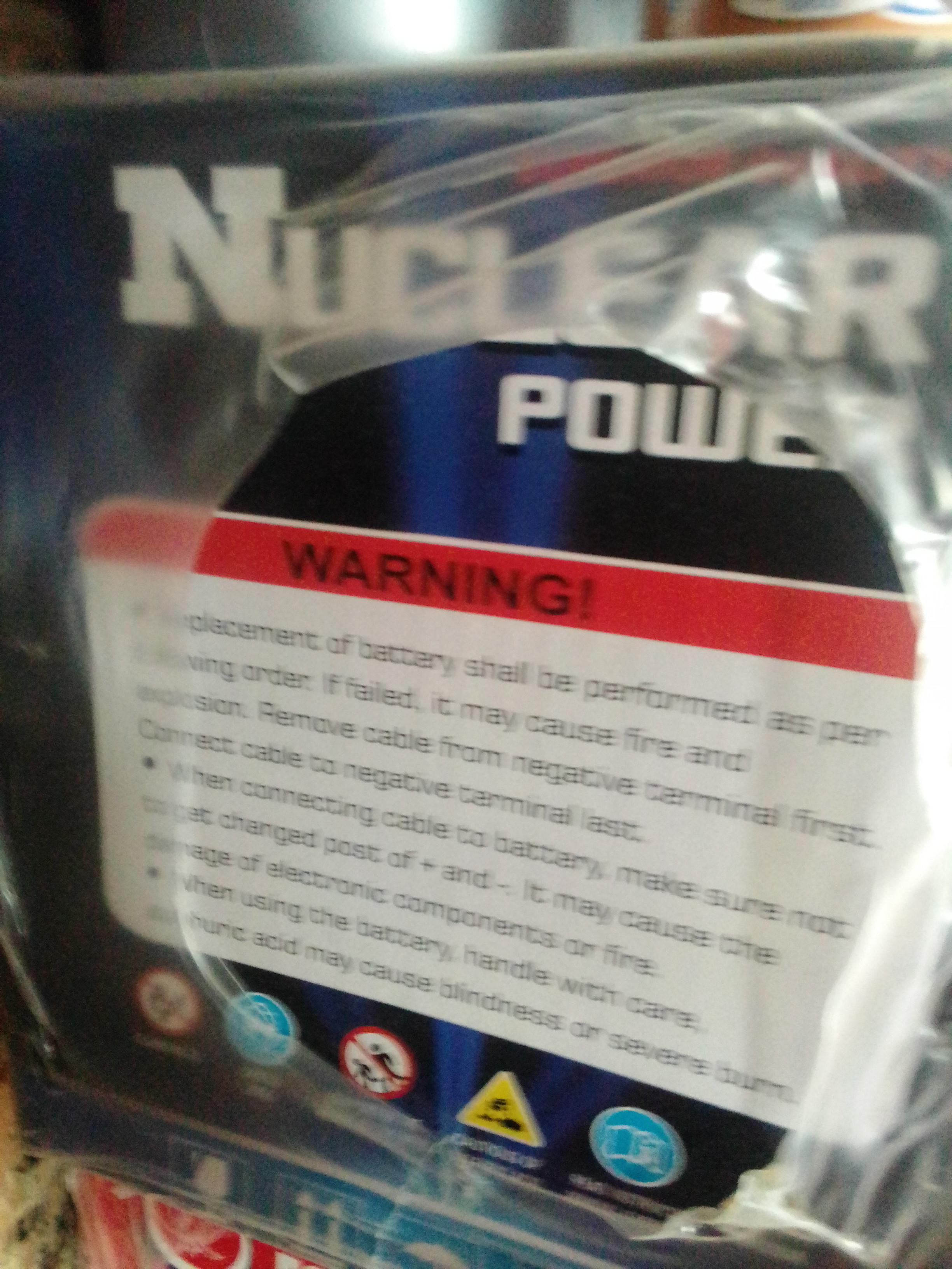 genuine nuclear power battery