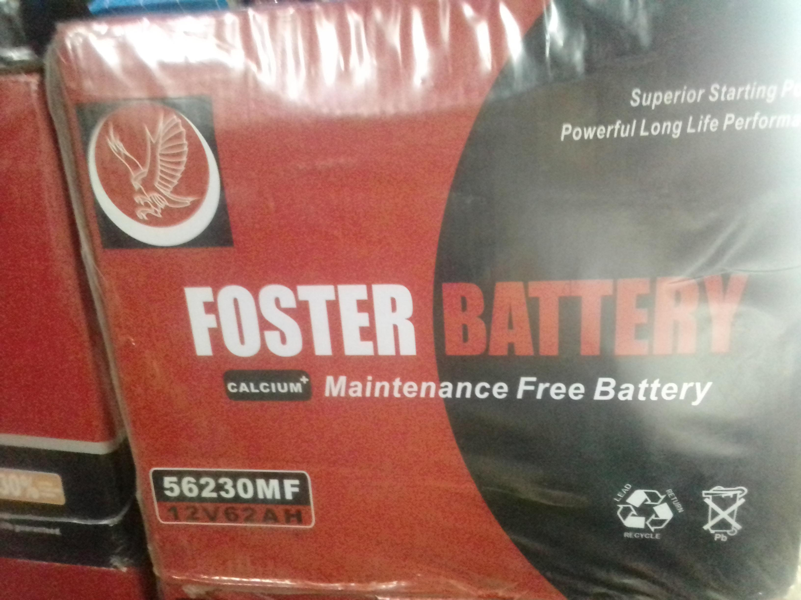 confirmed foster battery