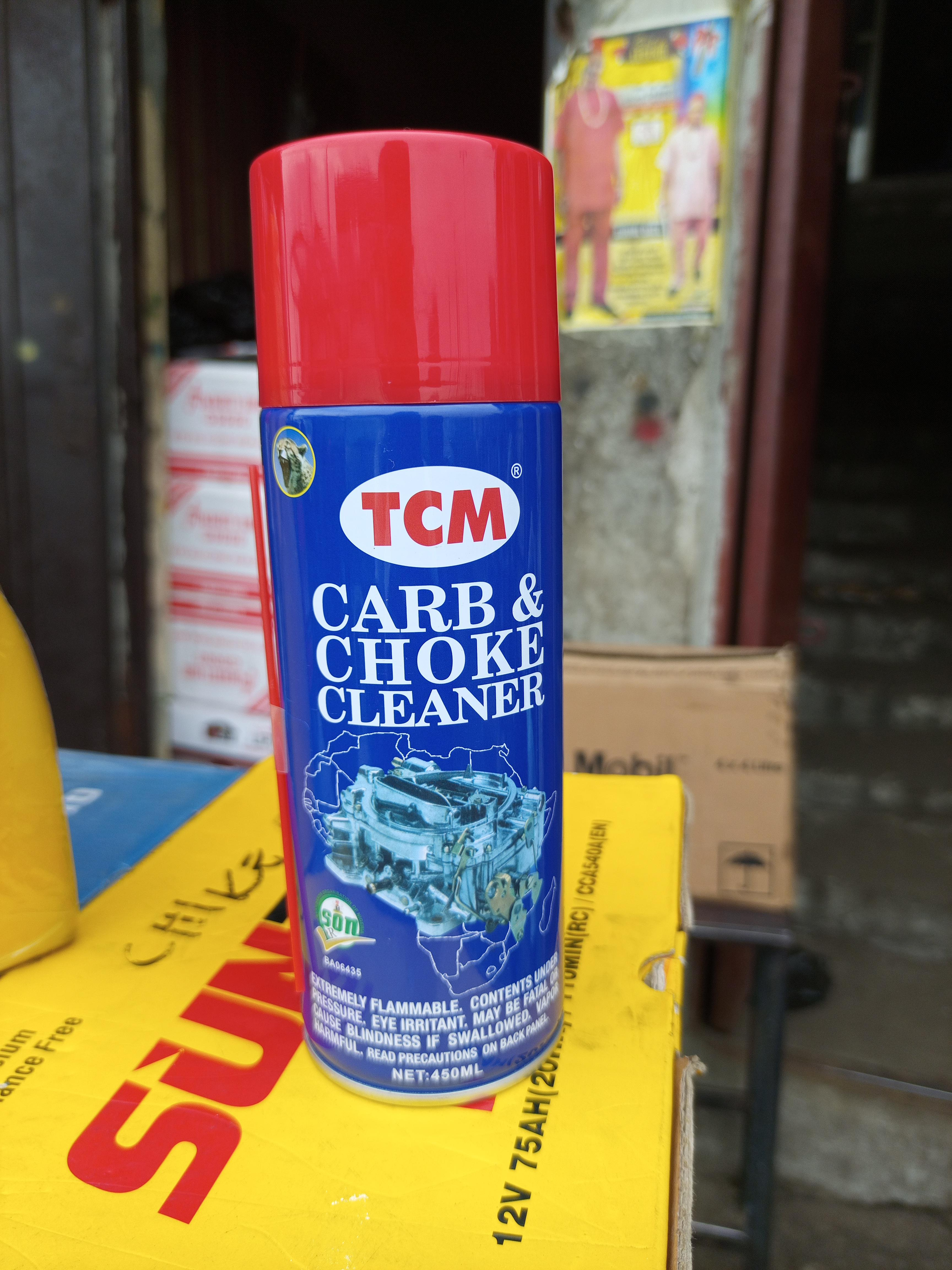NEW TCM CARB AND CHOKE CLEANER OIL