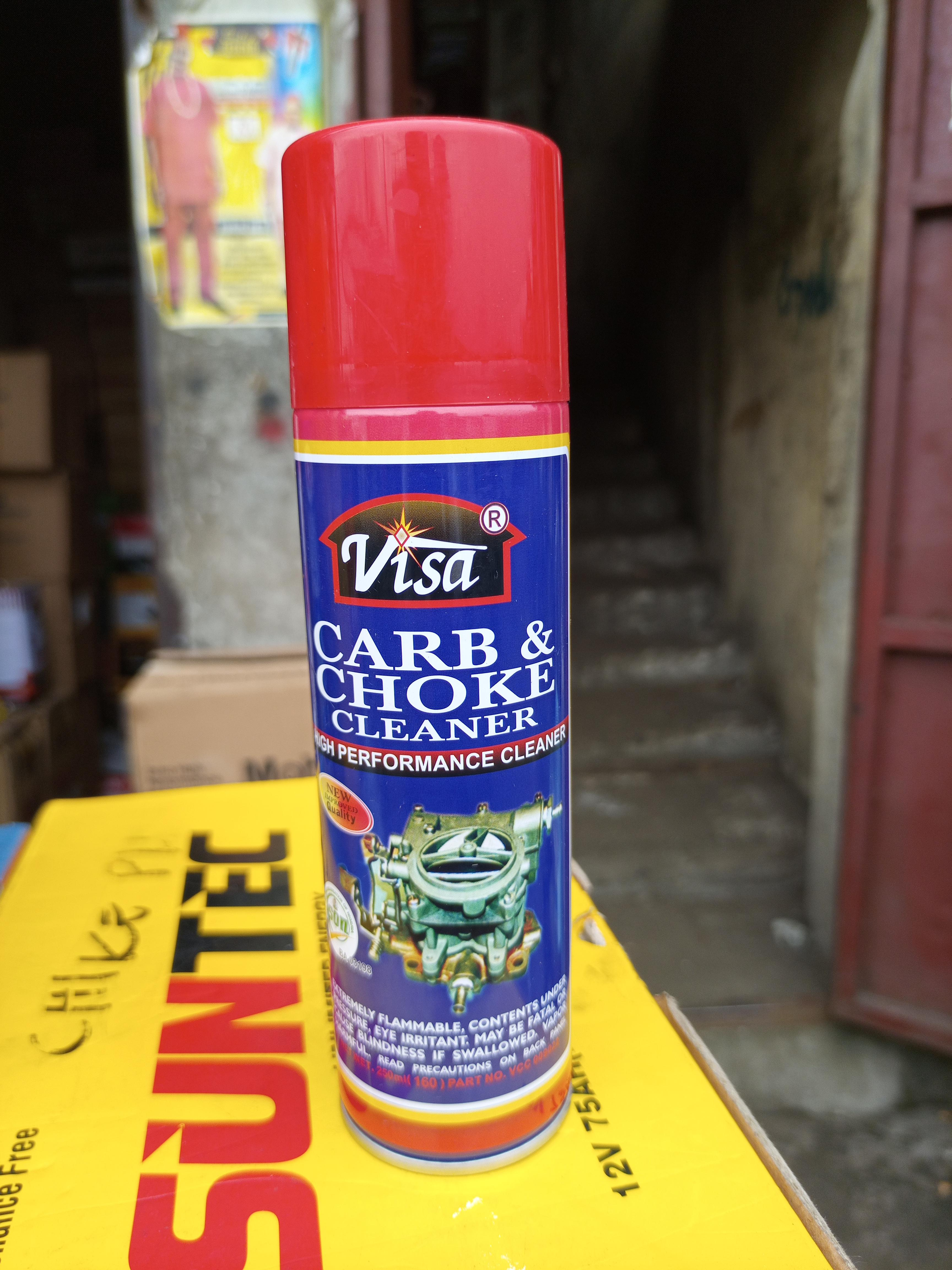 NEW VISA CARBS AND CHOKE CLEANER OIL