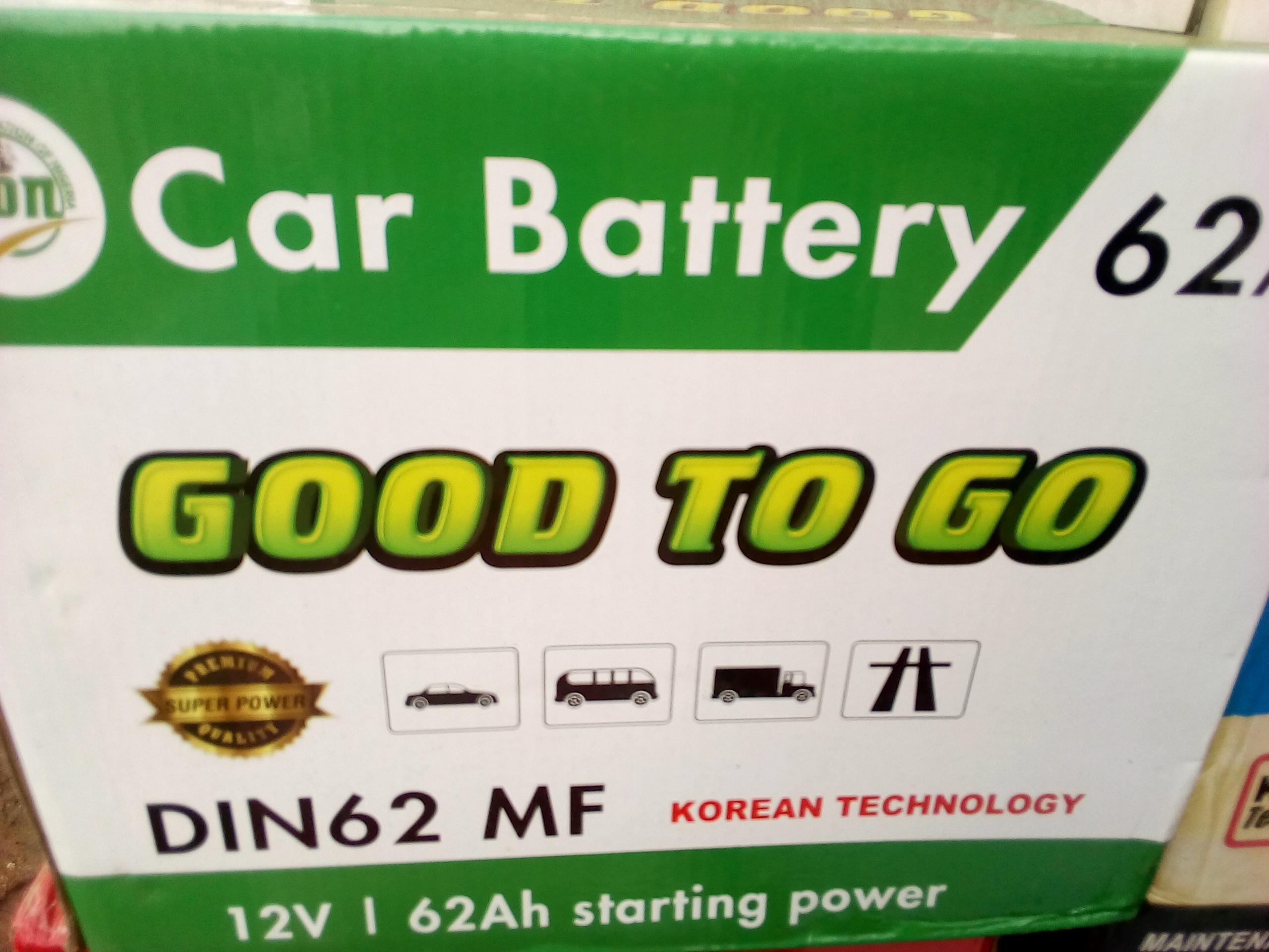 new good to go battery
