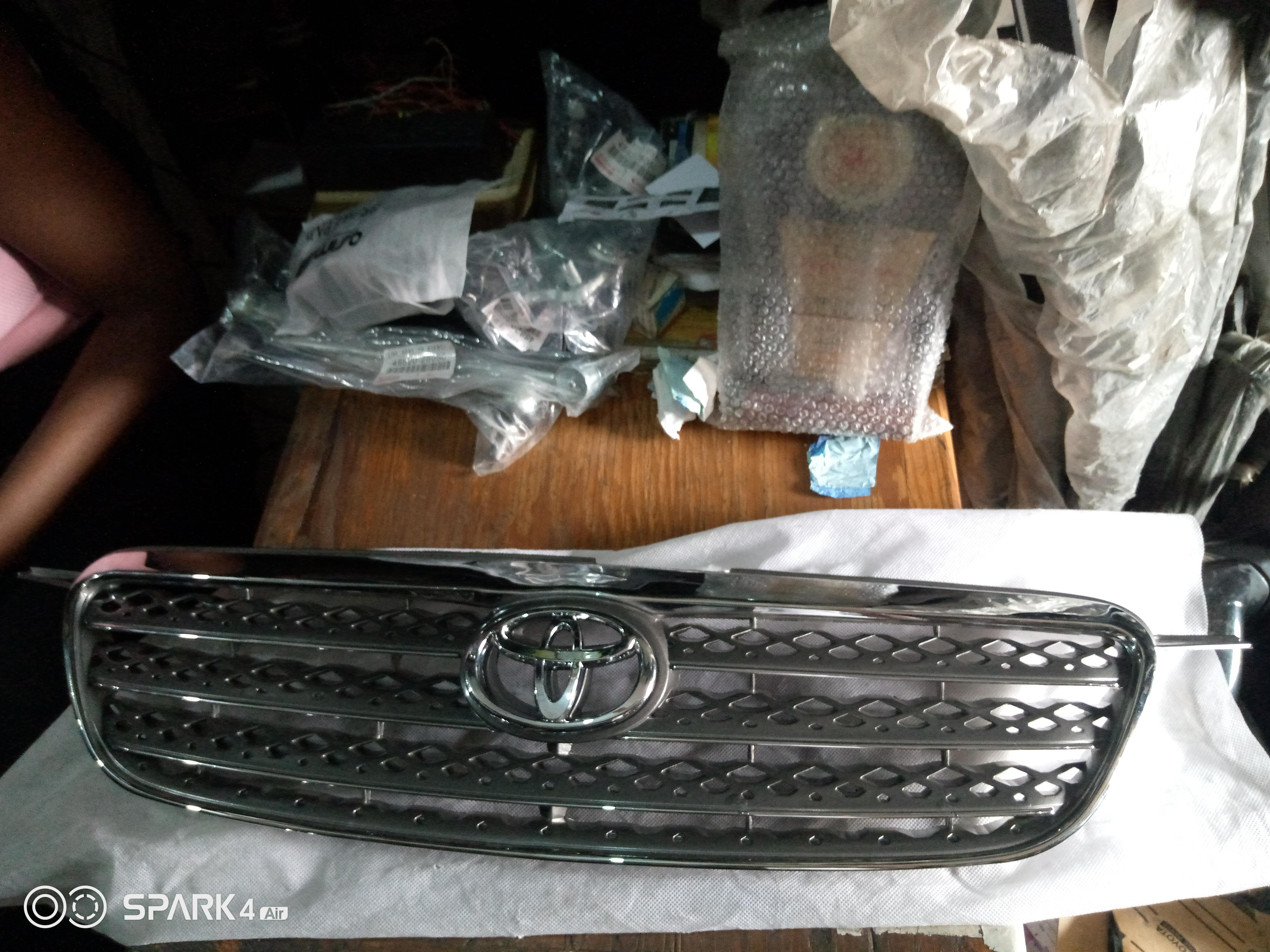 ABS Grille -  Toyota 2005 Corolla