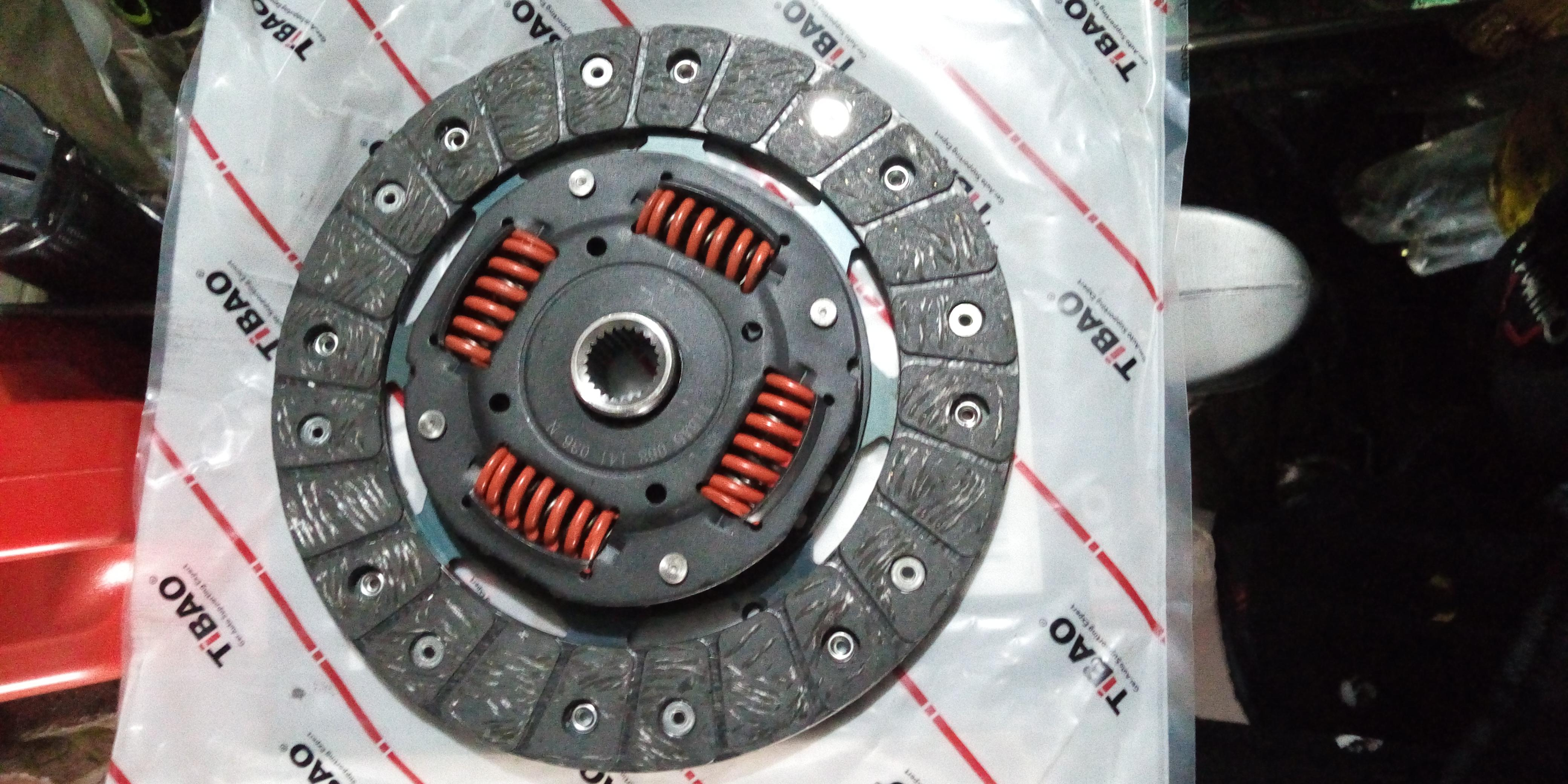TIBAO Clutch Disc -  Volkswagen 1999-2014 Golf